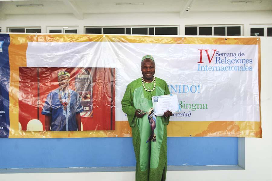 Semblanza del Príncipe Bantú, Dr. Jean Louis Bingna